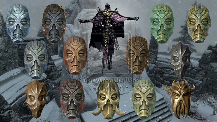 Theese are all the dragon preist masks u need to finish draginborn dlc main quest line to get miraak. the wooden  mask does NOTHING.but dont get rid of it!!!!! Very important key