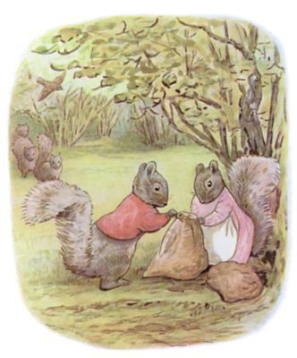 The Tale of Timmy Tiptoes - Tying Bags of Nuts