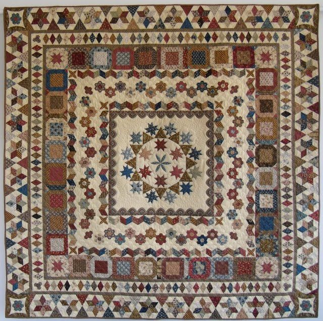 79 best Medallion Quilts images on Pinterest | Medallion quilt ... : english quilt patterns - Adamdwight.com
