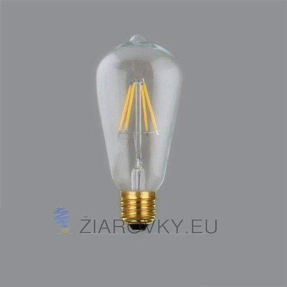 FILAMENT žiarovka - TEARDROP - E27, Teplá biela, 4W, 450lm
