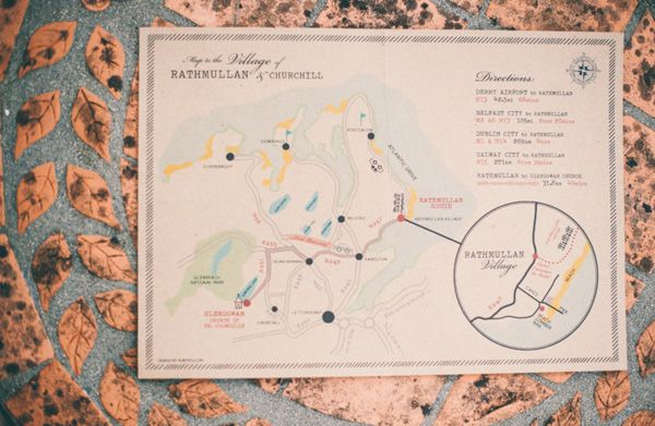 map style Wedding Stationery by http://www.rubypeg.com/