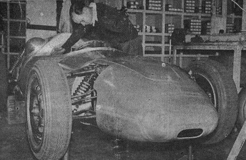 The Jennings Porsche shortly after build was completed