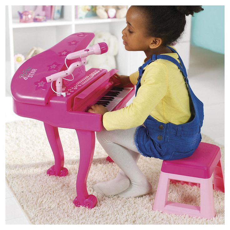 Tesco direct: Carousel Pink Let's Play Pink Grand Piano