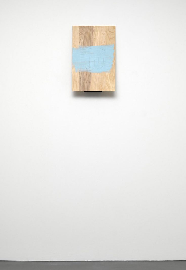 """"""" Richard Tuttle,  Sequence VII, 2011, birch plywood, flat wall paint, graphite, plywood, spray enamel, white satin wall paint  """""""