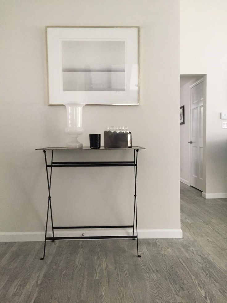 Silver-stained wood floor—stain applied to an existing floor—by Dirty Girl Construction in LA | Remodelista