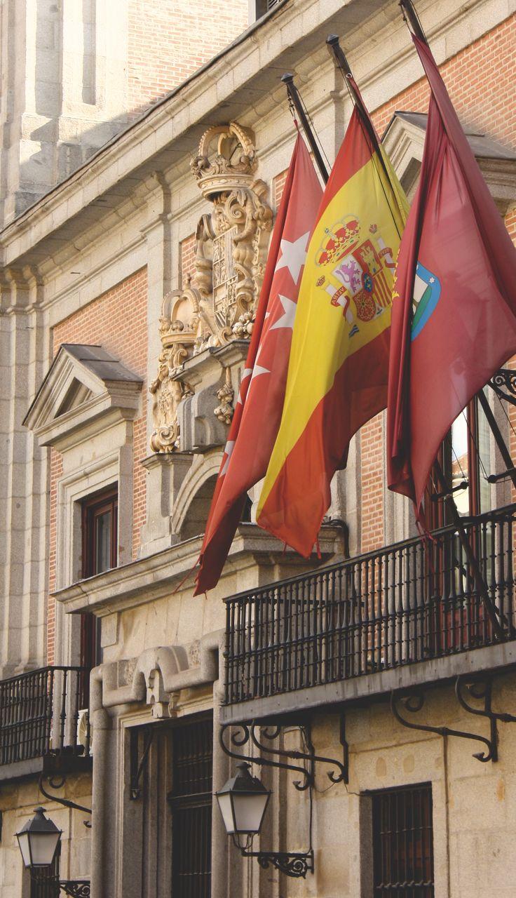 Madrid - der Stil, die Farben, es passt alles. Irgendwie immer in dieser Stadt...