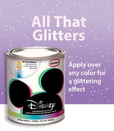Glitter, Dry Erase, Glow in the dark Top Coats go over any color paint.  Metallic and chalkboard are tintable.