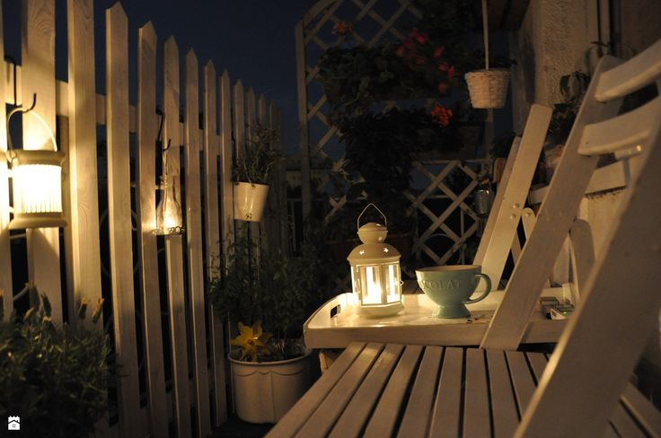 Wieczór na balkonie - zdjęcie od Malwina Korcz-Andrzejewska - Taras - Styl Klasyczny - Malwina Korcz-Andrzejewska