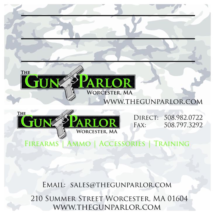 14 best business cards images on pinterest business cards carte business cards designed and produced for the gun parlor produced on 16pt card stock with reheart Images