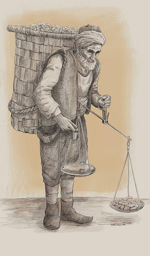 The illustration of Agriculture Museum   / Tarım müzesi illüstrasyonu,