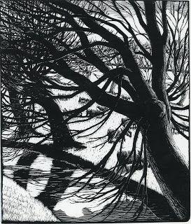 Gwen Raverat, woodcut