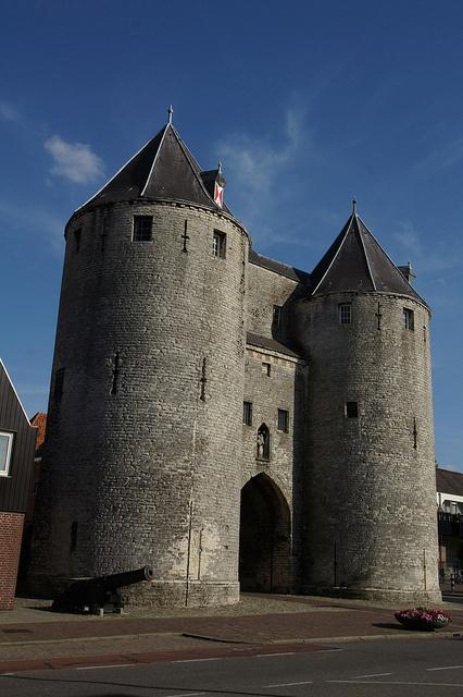 Gevangenpoort, Bergen op Zoom, Noord-Brabant.