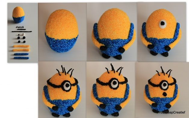 Minion Foam Clay Stap voor Stap | Your Zoap