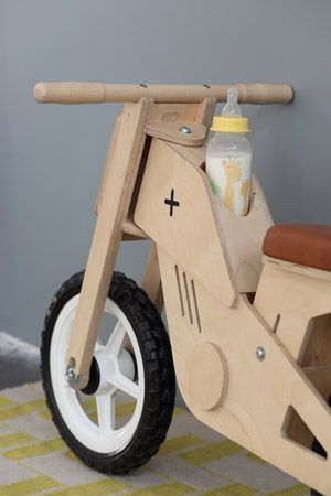 Toby Kids Bike // Children's Balance Bike // Pedersen + Lennard