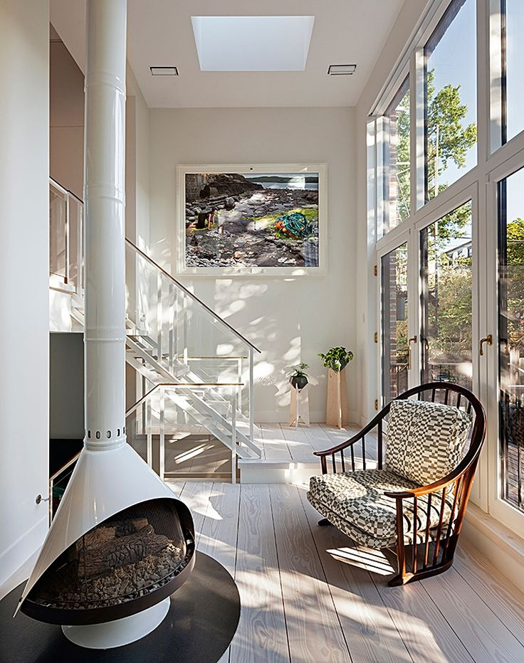 CWB Architects » PARK SLOPE LIGHTHOUSE Brooklyn Row House Brownstone Design.  Interior Design InspirationDesign IdeasDecor ...