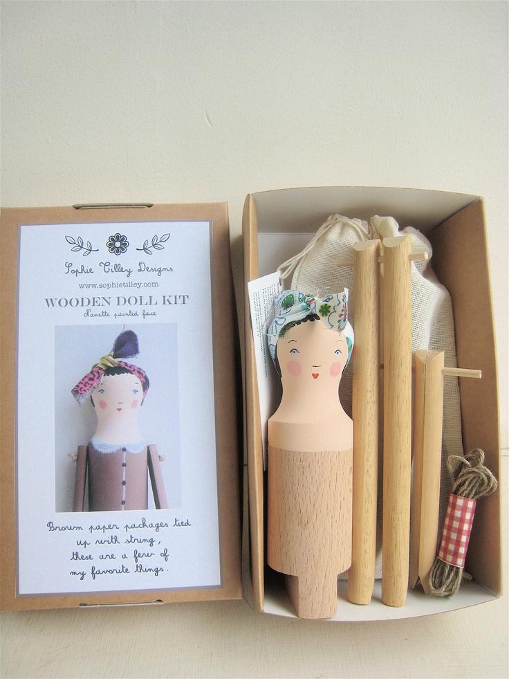Nanette Wooden Doll Kit