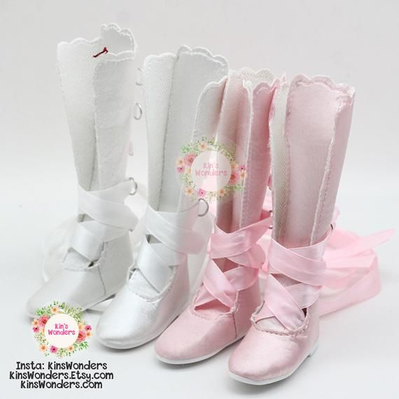 BJD Doll Shoes 1/3 Dolls, Cloth shoes, Supia, SD, LUTS – Dance shoes Doll Clothing Accessories Fashion 7cm Ribbon Tie up 60cm dolls shoes