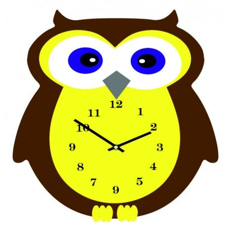 Nástenné hodiny pre deti. Sova 3D hodiny. Rozmer 35 x 35 cm. Farba hnedá - žltá Model  X0001-RAL8011-RAL1028 Stav  Nové Prišiel čas na zmenu ! Dekoračné hodinky oživia každý interiér, zvýraznia šarm a štýl Vášho priestoru . Zútulni si svoje bývanie s novými hodinami. Nástenné hodiny z plexiskla sú nádhernou dekoráciou Vášho interiéru.