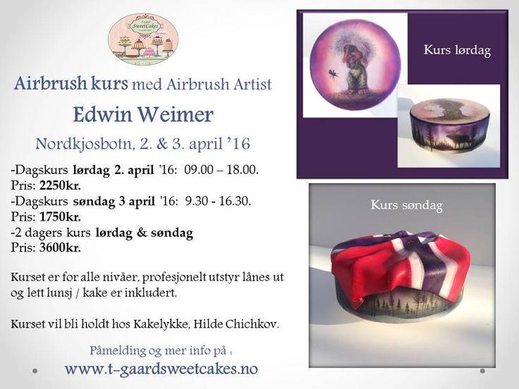 Airbrush workshop in Norway - Nordkjosbotn ( Tromsø 1 hour drive )
