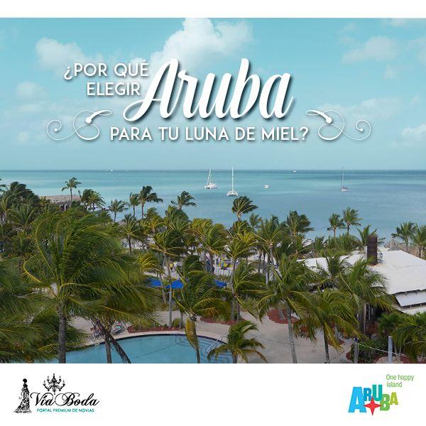 ¿Por qué escoger a Aruba para tu Luna de Miel? -- Nos pusimos en la tarea de buscar un destino especial para tu luna de miel y encontramos a Aruba como el lugar perfecto para que tengas el mejor viaje en pareja de tu vida.