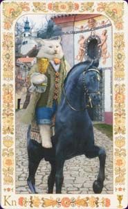 Knight of Cups - Baroque Bohemian Cats