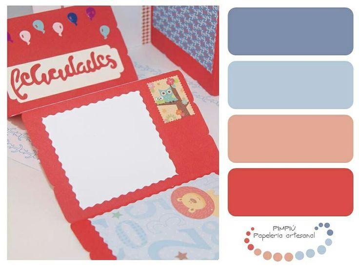 #gamadecolores de uno de nuestros pack acordeón, si quieres ver más entra en www.pimpiu.com #paletadecolores #palette #colores