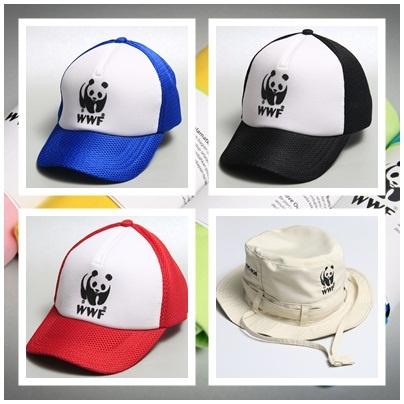 WWF Jungle Cap and Captain Cap. IDR 85.000 and IDR 65.000