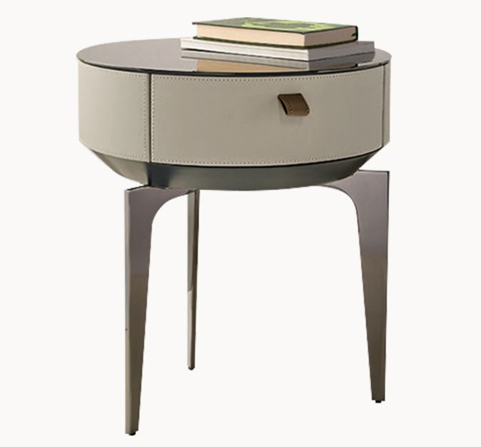 Pin By 自在design On C 床头柜 In 2020 Bedside Table Design Furniture Side Tables Lacquer Bedside Tables