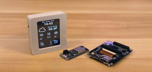 Tutorial para crear una estación meteorológica con WiFi y pantalla con Arduino #arduino #makers #domotica #iot