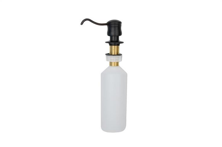 Solid Brass Soap & Lotion Dispenser in Oil Rubbed Bronze