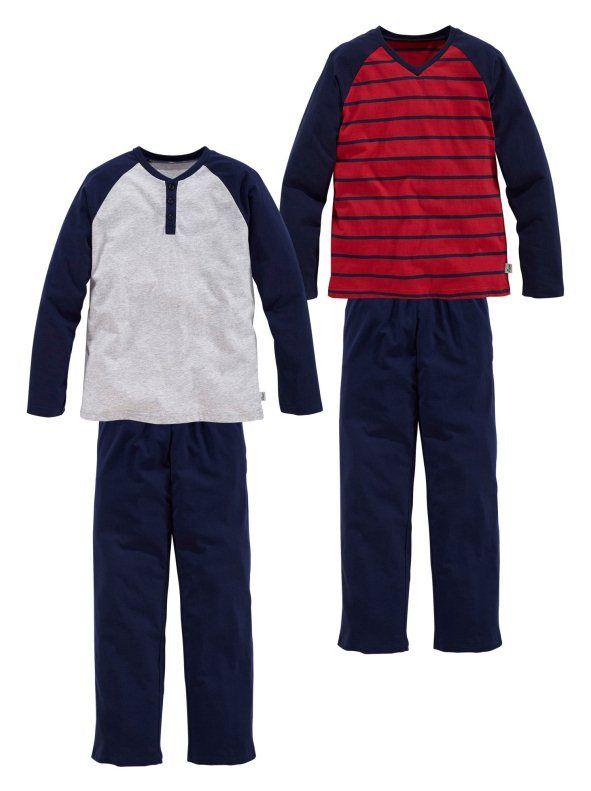 Lote 2 pijamas LE JOGGER 100% algodón niño