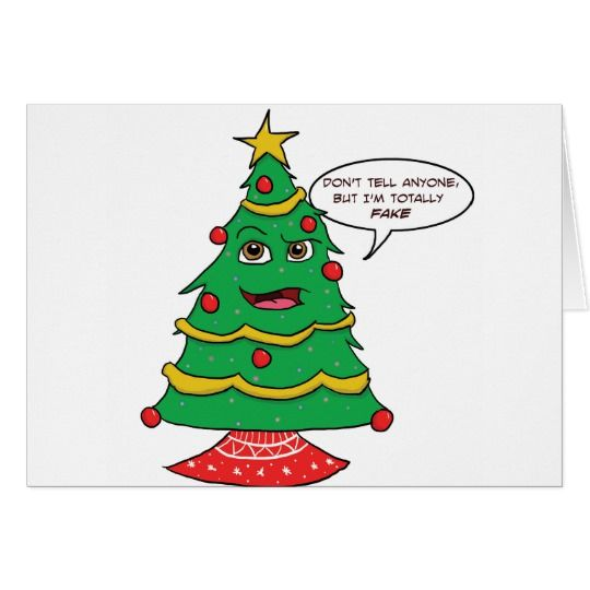 Fake Tree Card