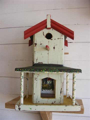 Birdhouse from Perry Davies.