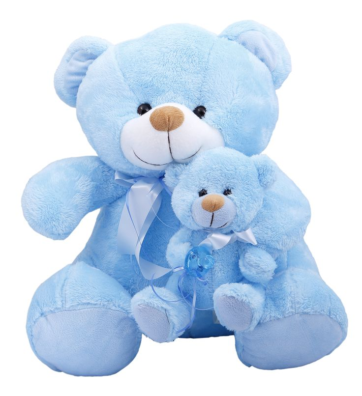 Celebrate the arrival of a baby boy with a Teddy Bear he'll love growing up with. #newborn #babyboy #baby #itsaboy #newmother #mother #gift #much #muchtoys #teddybear #plushtoy