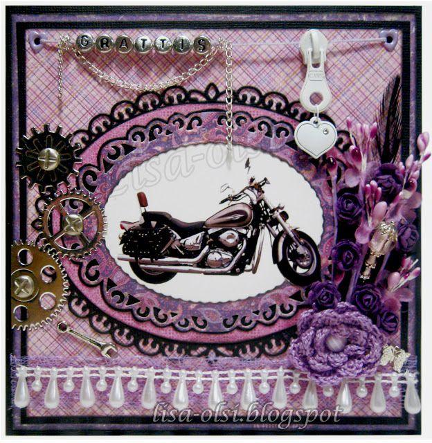 A feminine motorcycle card http://lisa-olsi.blogspot.se/