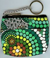 Keychain Coin Purse Hands (green) by Colin Jones $8.00 or 2 for $15.00 Code:  KCOIN-CJH01