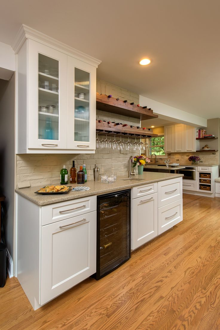 A Built In Wine Rack And Fridge, Perfect For Entertaining. See More Looks