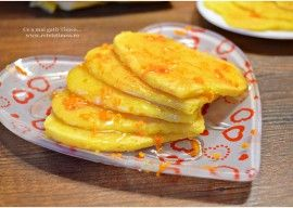 Clatite cu portocala si miere