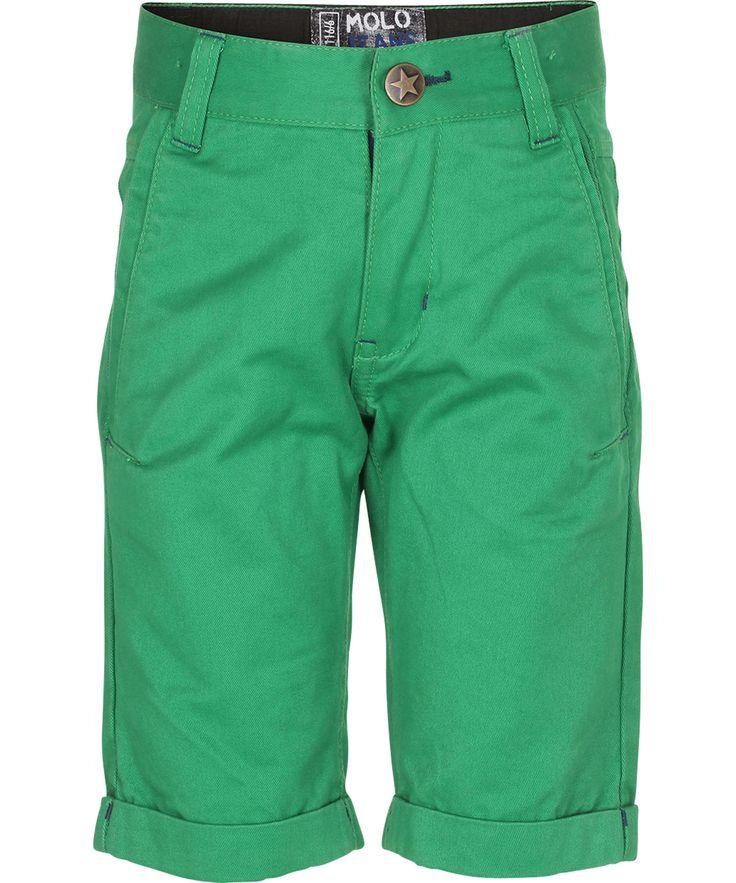 Molo Fantastic Green Capri Shorts #emilea