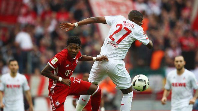 Bundesliga: Die schönsten Fotos vom Bundesligaspiel zwischen dem FC Bayern und Eintracht Frankfurt.