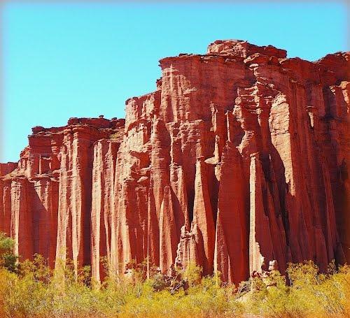 La Catedral.    Talampaya National Park, Argentina