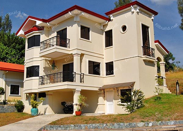 Family Home On An Uphill Lot L House Design Ideas Philippines