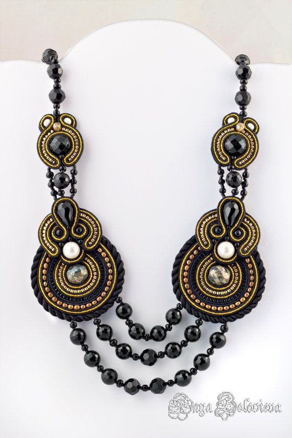 Gorgeous Statement Beaded Jewelry by Perlina Rosa - The Beading Gem's Journal