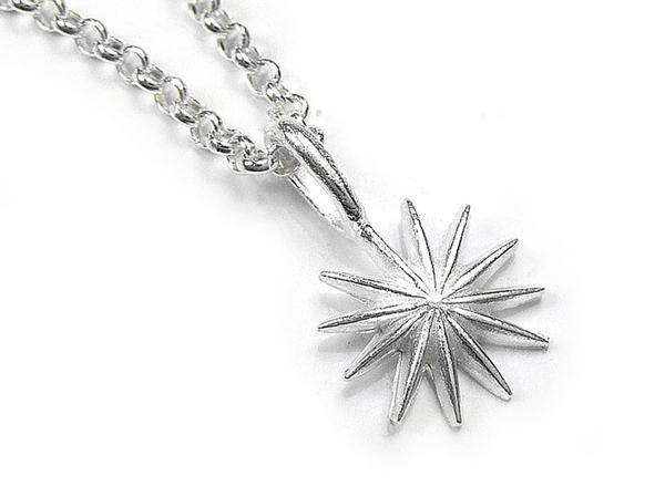 Silver Pendant - North Star
