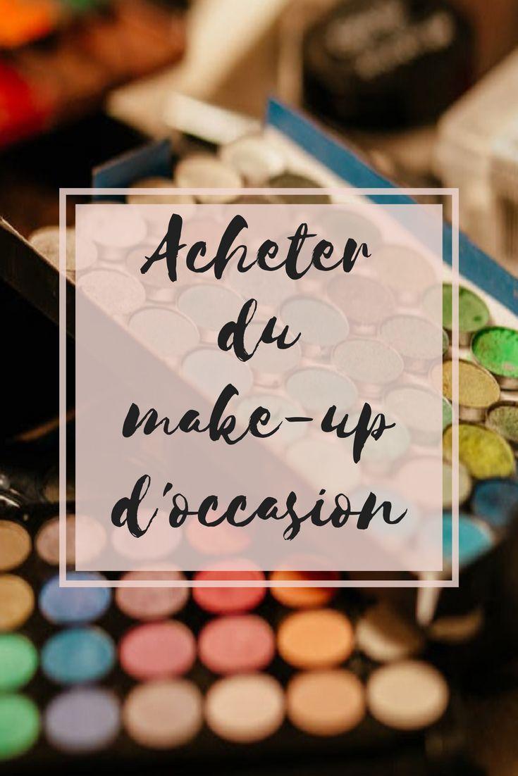 Que tu aies un petit budget ou que tu sois serial shoppeuse, le maquillage d'occasion peut-être une bonne alternative pour agrandir ta collection. Viens découvrir mes astuces 🌸