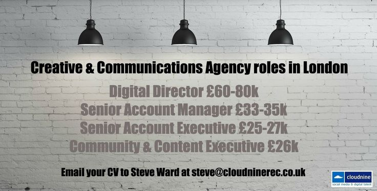 We've got some great #creative agency roles! Interested? Get in touch! #digitaljobs