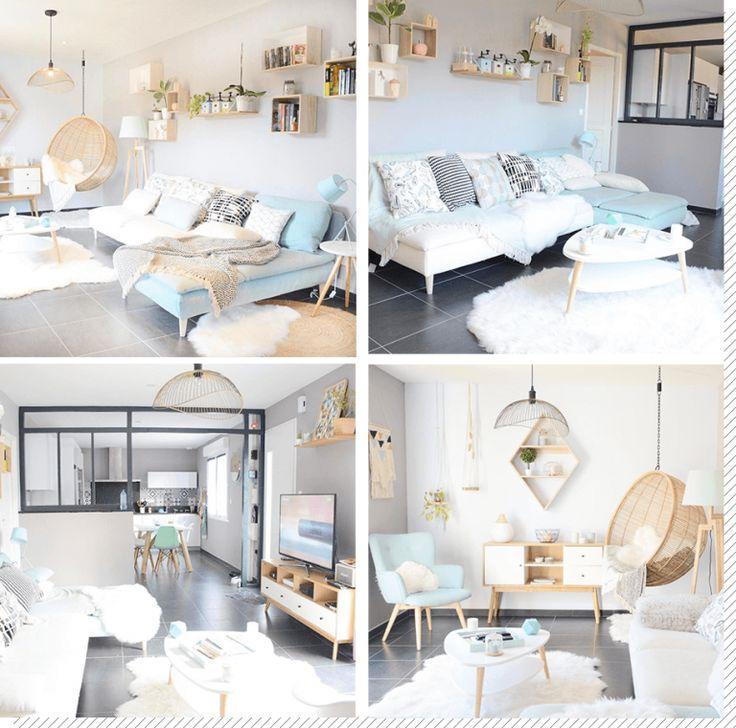 Salon Cocooning 10 Idées Pour Créer Un Salon Cosy Et: Salon Scandinave : Top 10 Instagram
