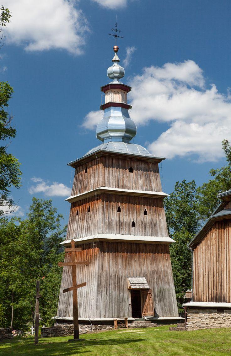 Turzańsk, Podkarpackie. Drewniana cerkiew greckokatolicka z 1803 roku…