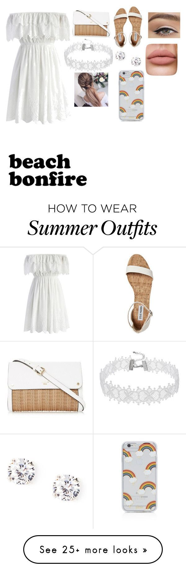 Summer Outfits : The perfect beach bonfire outfit by desty223 on Polyvore featuring Chicwish an