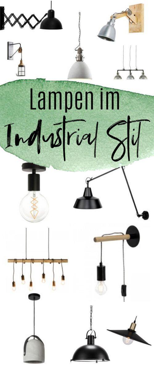 Lampen Im Industrial Style Inspiration Fur Wohnzimmer Kuche Und